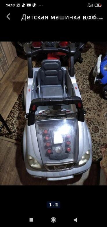 11188 объявлений: Детская машинка в хорошем состоянии все работает ездеет хорошо ( без п