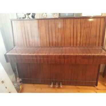 Musiqi alətləri - Mingəçevir: Pianino 300 manata satılır mingecevirde satılır vatcapla da murciet ed