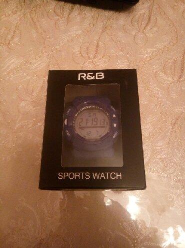 часы все цвета в Кыргызстан: R&B Sports watch наручные часы синего цвета для занятия спортом