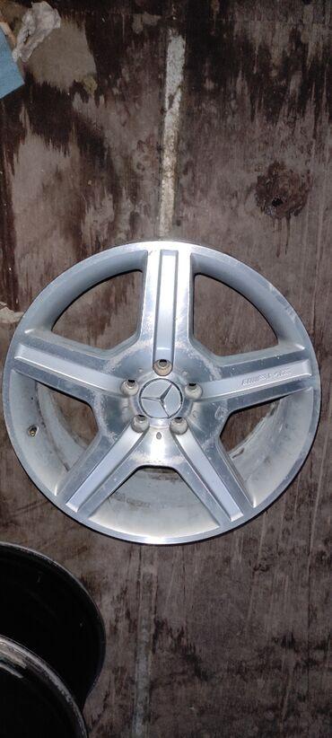 купить диски для машины в Кыргызстан: В продаже оригинальный диск MercedesДиаметр R19Сверловка 5*112Ширина