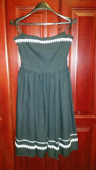 Crna haljina, do kolena, za svečanije prilike, nova, nikad nije nošena - Veliko Gradiste