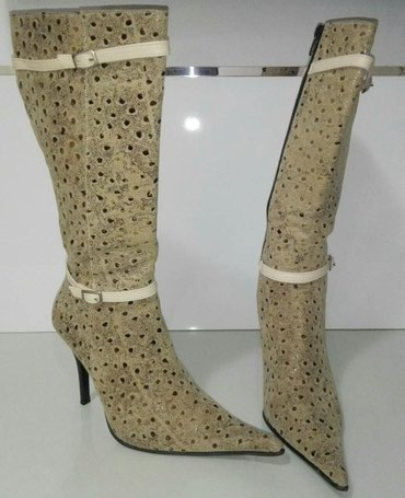 Ženske čizme. Broj 36. Štikla 9cm. - Belgrade