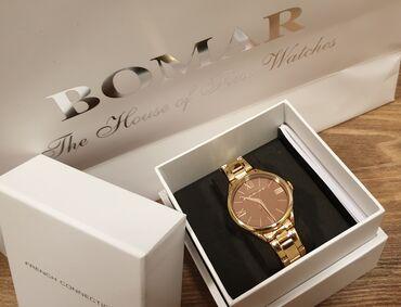 U originalnom pakovanju, kupljen u Bomaru, rose gold rucni sat marke