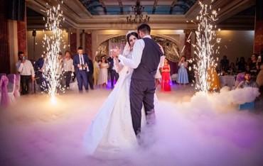 Развлечения в Корумду: Мы предлагаем украсить ваш свадебный танец следующими спецэффектами