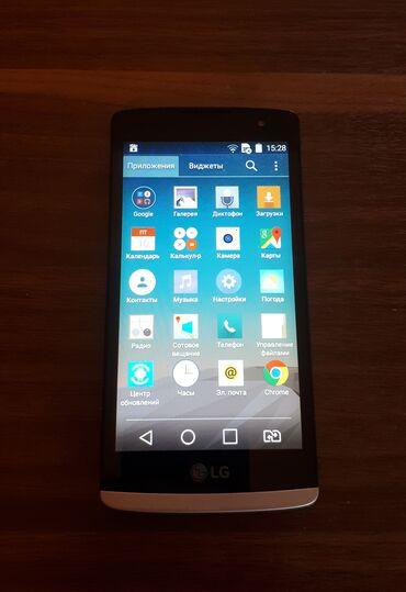 LG Azərbaycanda: Mobil telefon LG LeonÇox yaxşı vəziyyətdədir. Ekranda cızıq yoxdur