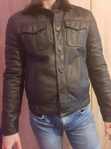 Kozna jakna vera - Srbija: Armani Jeans - ORIGINAL-PRIRODNA KOZA -Visoka moda REGULAR SLIM Armani