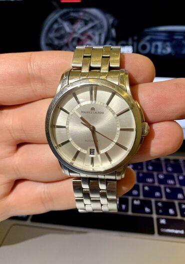 - Azərbaycan: Gümüşü Kişi Qol saatları Maurice Lacroix