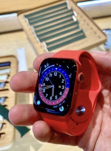 s 6 edge - Azərbaycan: Qırmızı Uniseks Qol saatları Apple