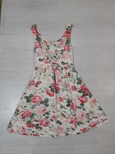 Pamucna haljina super prijatna za nosenje. Vel l xl bez ostecenja