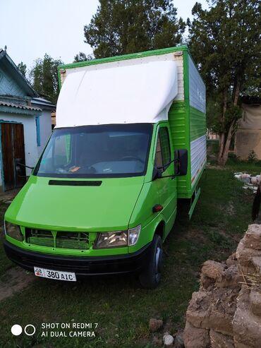 шины для грузовиков в Кыргызстан: Мерседес спринтер 412, термобудка, объем 2,9. Год выпуска 1996. Из