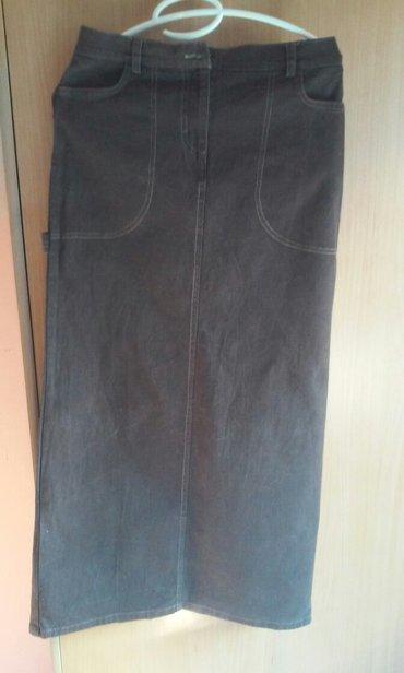 Ekstra suknja,duga i uvek moderna,moderni detalji koji je dodatno - Vrnjacka Banja