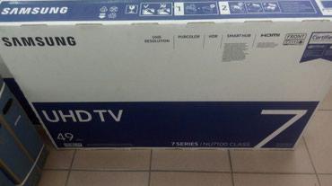 Телевизор samsung 49nu7100 smart, новинка! 123см, в Бишкек