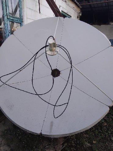 Аксессуары для ТВ и видео в Кок-Ой: Продаю спутниковую антену с приставкой
