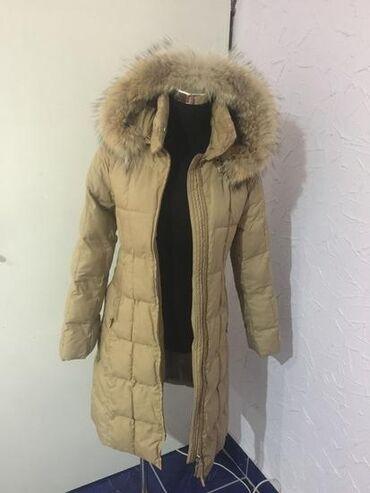 Odlucna H&M jakna sa pravim krznom rakuna, kao nova, nosena