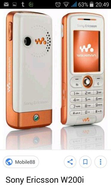 Sumqayıt şəhərində Salam şəkildə olan soni Ericsson w200i modeli qeydiyyat lazımdır