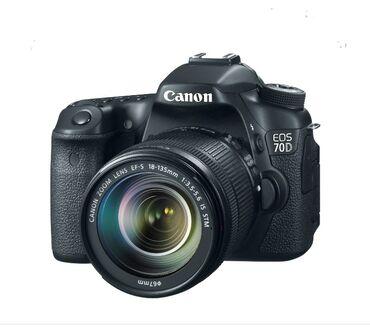 Продаётся фотоаппарат canon 70d с объективом canon 18-135 STM