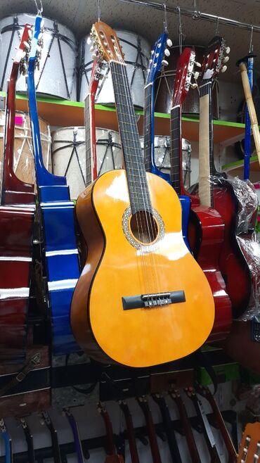 gitara klassik - Azərbaycan: Klassik gitara 4/4 olcude ABS brendi