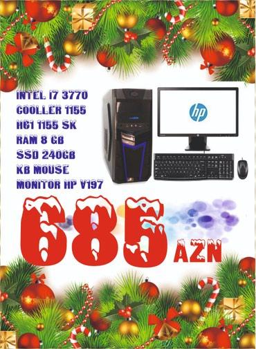 Bakı şəhərində Core i7 Personal Kompyuter