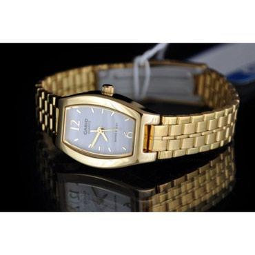 Женские Золотые Классические Наручные часы Casio в Бишкек