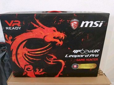 MSI GP62MVR 7RFX Leopard Pro gaming Laptop