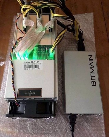 Antminer  S9 Miner - 14TH/S  With PSU and Ethernet in Belgrade
