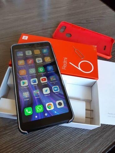 xiaomi-redmi-4x-бу в Кыргызстан: Б/у Xiaomi Redmi 6 64 ГБ Черный