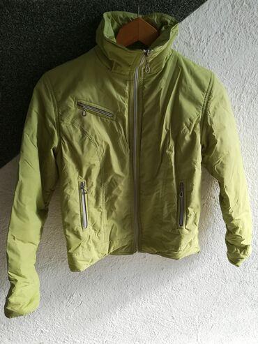 Dečije jakne i kaputi | Vranje: Jakna zelene boje za proleće vel 10, obim grudi 84 cm, dužina 51 cm