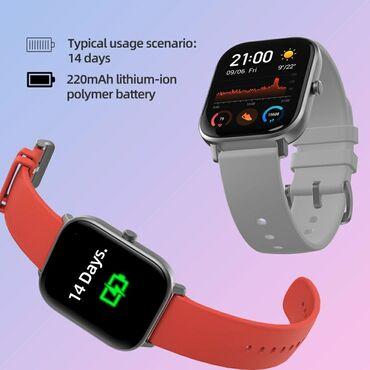 Amazfit gts .əsas xüsusiyyətləri model: dt x smart watch uyğun sistem