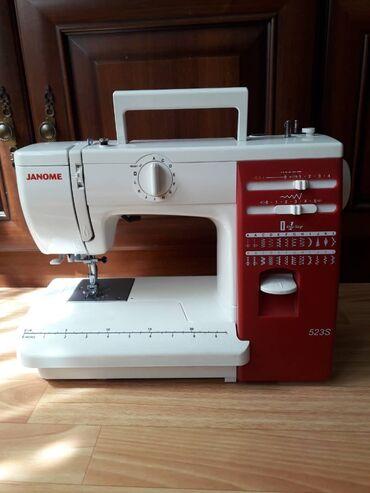 Швейная машинка. Продаю швейную машинку Janome 523s пользовались неско