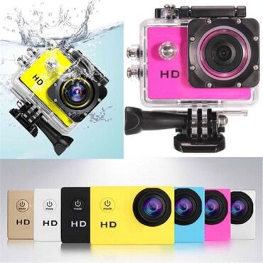 Action Kamera Sports A730 metr suya davamlıdırEkstremal idman növləri