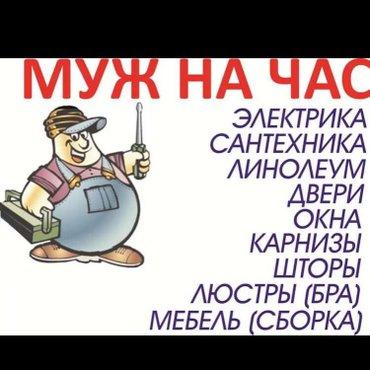 Электрика,сантехника,плотник,вскрытие замков. в Бишкек
