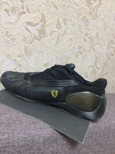 puma 43 в Кыргызстан: Продаются мужские кожаные кроссовки puma Ferrari, размер 42-43 состоян