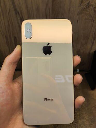 gold man бишкек in Кыргызстан   APPLE IPHONE: IPhone Xs Max   256 ГБ   Алтын Колдонулган   Кепилдик, Зымсыз зарядка, Face ID