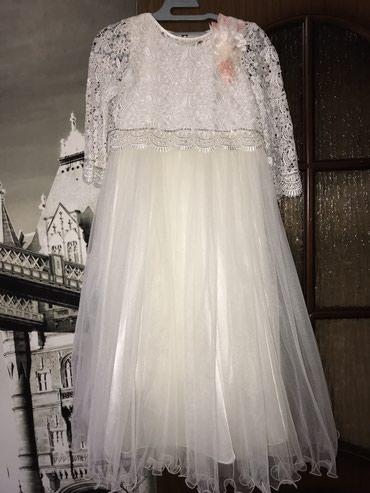 Платье на девочку 7-8 лет Цена: 1500 сом в Бишкек