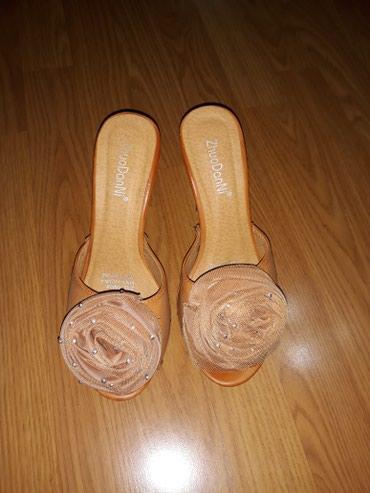 Ocuvane papuce,duz.gazista 25 cm,visina 12/3 cm - Smederevo