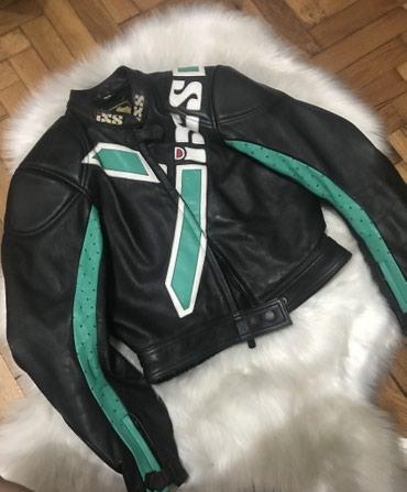Kozna jakna za motor marke IXS, velicina naznacena 40, odogovara S-M. - Sremska Mitrovica