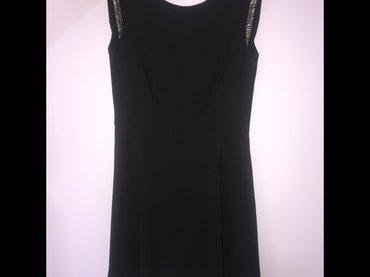 Haljina-ara-univerzalan-broj - Srbija: Crna haljina, S broj, jednom nosena