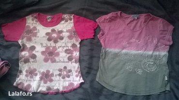 Dve prelepe majice vel. 5  / 110 - Prokuplje