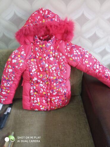 Продаю две зимние куртки на девочек возраст 7-9 лет в отличном