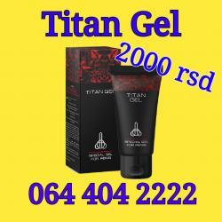 Titan Gel - gel za uvećanje penisa - Arandjelovac