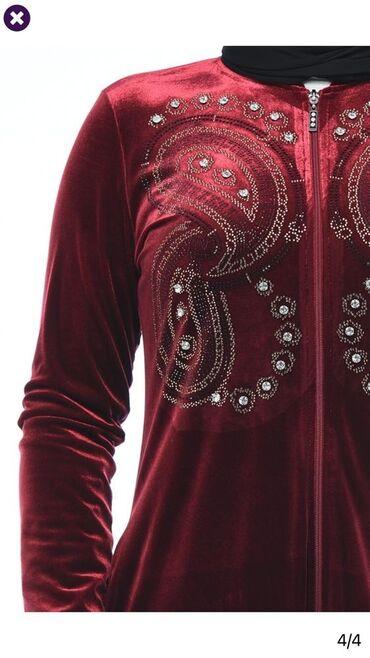 Хиджаб роскошный из королевского бархата, украшенный стразами