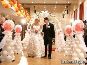 Свадьба в белом цвете в Бишкек