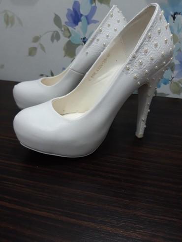 Туфли 38 размер (покупала на свадьбу, в Бишкек