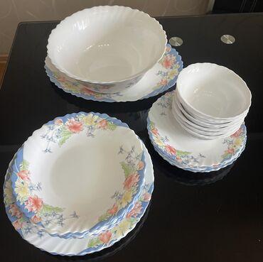 Кухонные принадлежности - Кыргызстан: Набор посуды Luminarc  В идеальном состоянии, на 6 персон