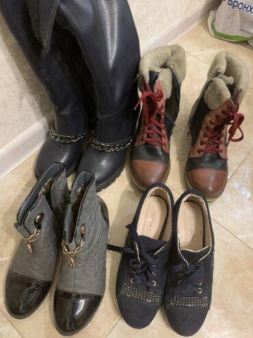 tufli 35 razmer в Кыргызстан: Продаются 6 пары обуви. Летние 35, деми 37 размер. Цена за 6 пар
