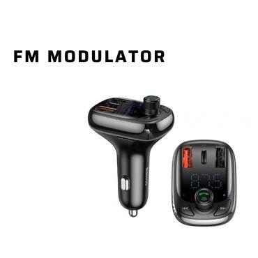 Fm modulator, fm modulyatororijinal baseus s13 bluetooth v5.0