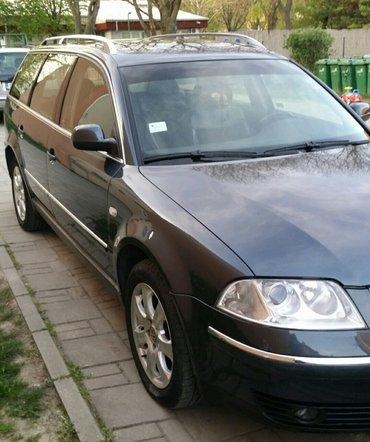 Pasat 1.9tdi. 6 brzina,vlasnik,zeder,registrovan,u odlicnom stanju,bez - Novi Sad