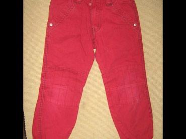 Lindex keper crvene pantalonice vel 110 - Paracin