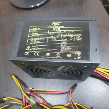 кабели синхронизации inkax в Кыргызстан: Deepcool de-530 530w 24pin 4+4pin 6+2pin 3mollex 3sataзащита от