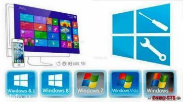 20 elan | XIDMƏTLƏR: Kompüterlərin formatı : Windows xp. Vista. 7. 8. 10 antiviruslarin